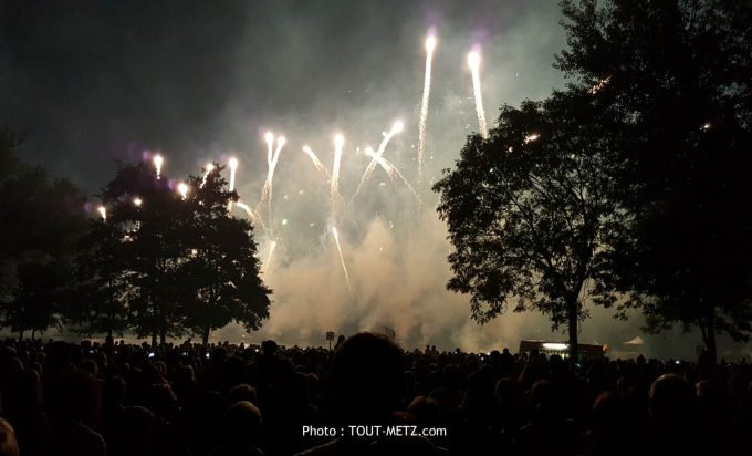 Metz : le feu d'artifice du 14 juillet annulé en 2021