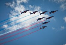 Photo of Défilé aérien : la patrouille de France dans le ciel de Metz pour la fête nationale 2018