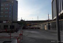 Photo de Le tunnel de la gare de Metz coté sablon ouvre le 31 mai