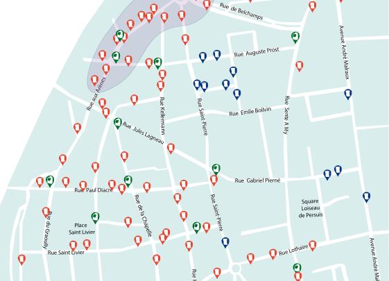Photo of Metz sablon : 75% des points de regroupement des conteneurs à déchets en moins (photos)