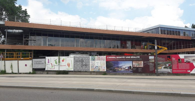 Photo of L'Agora à Metz Nord : le chantier en photos
