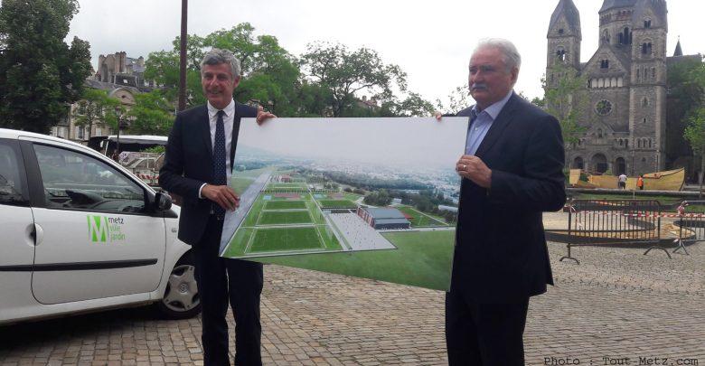 Photo of Centre d'entrainement du FC Metz : 30 hectares et 27 millions sur le Plateau de Frescaty