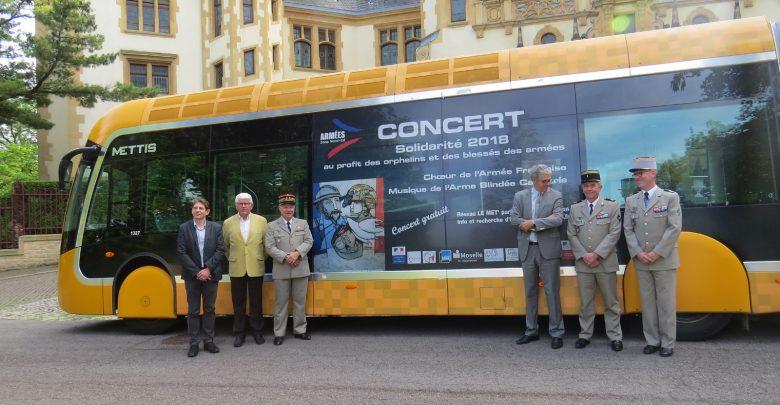 Photo de Solidarité à Metz : un concert et un Mettis pour les orphelins et blessés des Armées