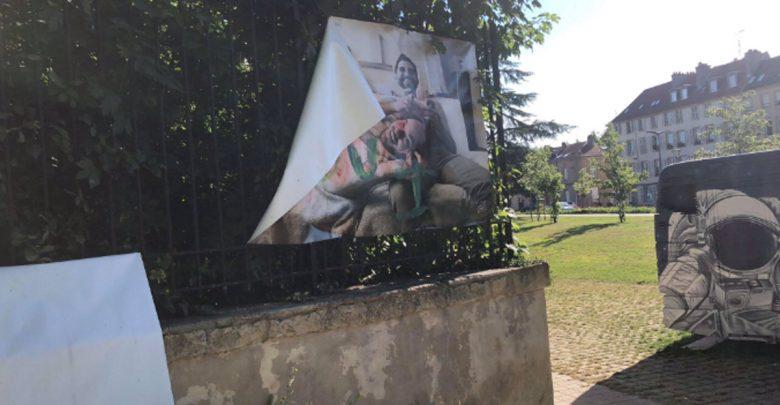 Photo of Metz : des tags homophobes à nouveau découverts sur une exposition de photos