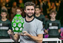 Photo de Moselle Open 2018 à Metz : Gilles Simon vainqueur