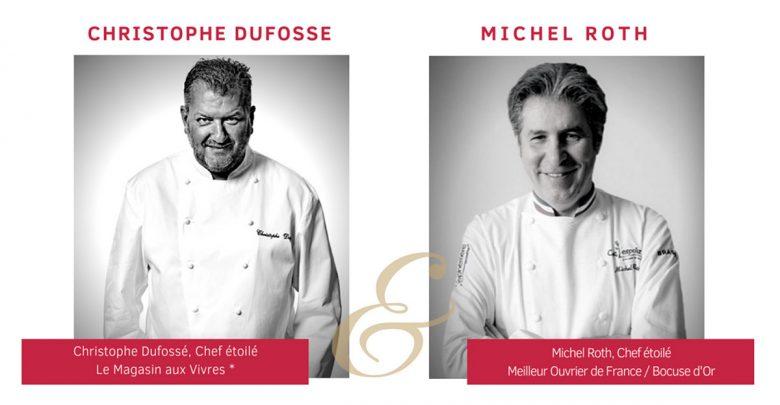 Photo de Metz : Christophe Dufossé et Michel Roth, 2 chefs étoilés, s'accordent au piano