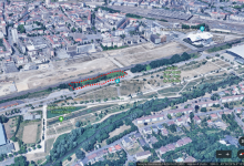 Photo de Metz : un nouveau parking dans le quartier de l'amphithéâtre
