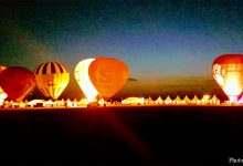 Photo de Mondial Air Ballons à Chambley : une ligne de nuit étincelante (vidéos)