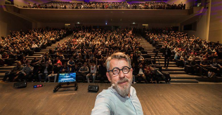 """Photo of GEN à Metz : Jamy de """"C'est pas Sorcier"""" rencontre 600 collégiens"""