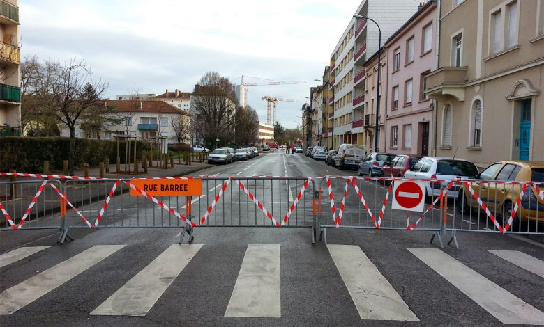 Photo de Marathon de Metz : rues fermées et parking condamné