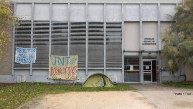 Photo of Metz : occupation du gymnase de Luxembourg