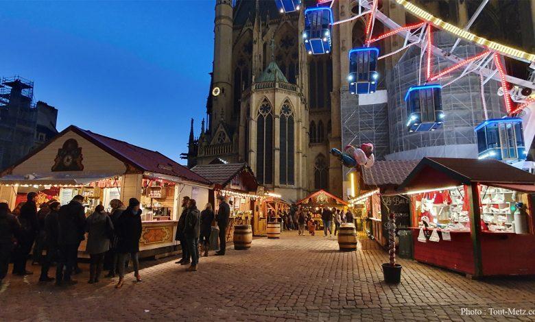 Photo de A Metz, sécurité renforcée sur les marchés de Noël