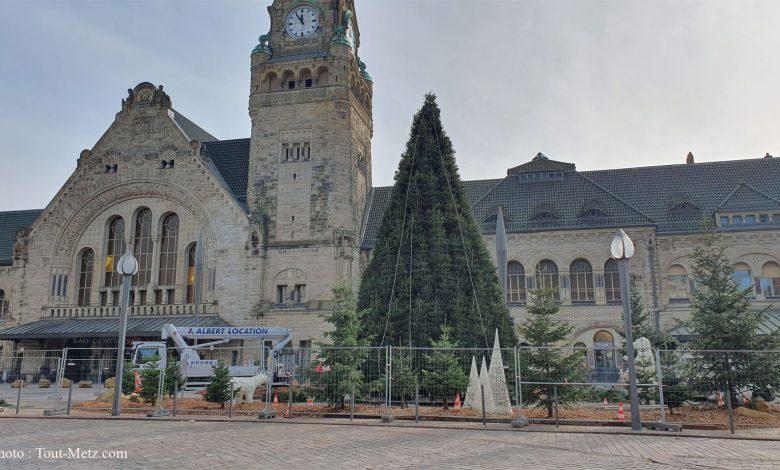 Photo de Metz : où trouver son sapin de Noël ?