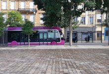 Photo de Manifestation à Metz pour la défense de l'hôpital : les bus perturbés