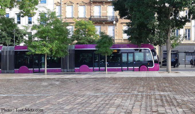 Une journée de bus à 1€ sur tout le réseau Le Met'
