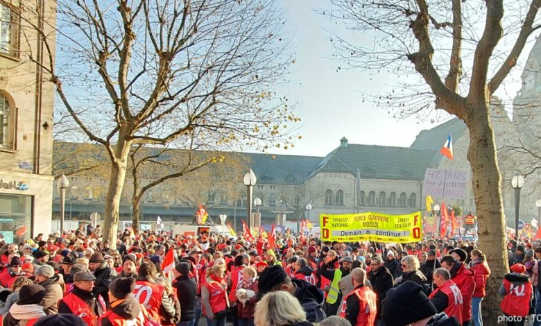 Photo of Retraites : nouvelle journée de grève et manifestation le 24 janvier à Metz