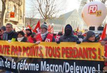 Photo of Metz : 6 500 personnes dans la rue contre la réforme des retraites