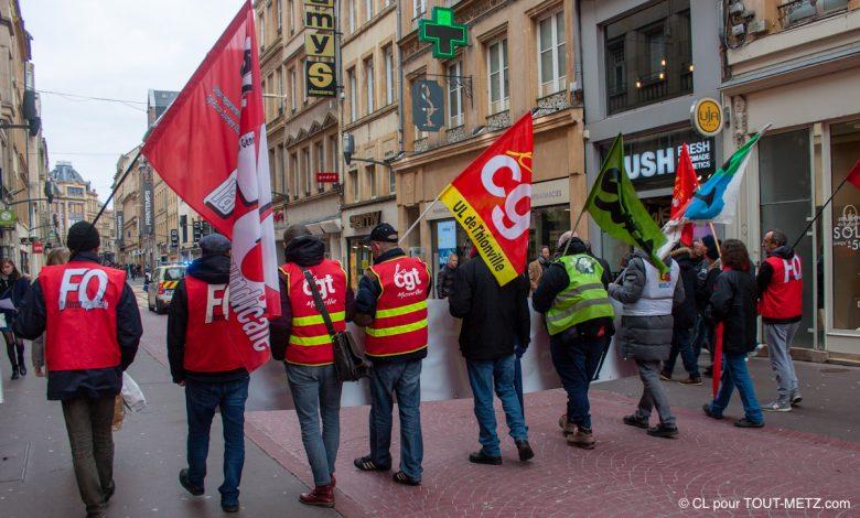 Photo of Réforme des retraites : manifestation à Metz ce jeudi