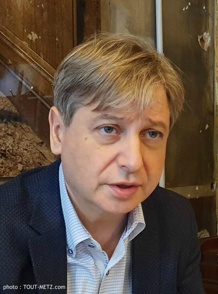 François Grosdidier, en novembre 2019