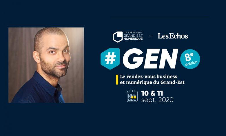 Photo of Tony Parker annoncé à Metz lors de #GEN 2020