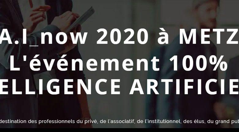 Photo of A.I Now 2020 : des professionnels nationaux et locaux à Metz pour parler d'Intelligence Artificielle