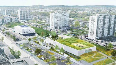 Photo of Centre socioéducatif de Borny : un projet de bâtiment bioclimatique retenu (images)