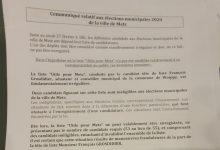 Photo of Municipales : un communiqué anonyme décrit une irrégularité dans la liste de François Grosdidier