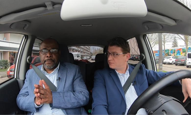 Photo of Candidats, en voiture ! Un tour dans Metz avec Jean-Hugues NYALENDO – Municipales 2020
