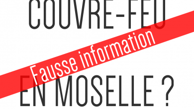 Photo de LCI annonce le couvre-feu en Moselle, le Préfet dément