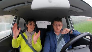 Photo de Candidats, en voiture ! Un tour dans Metz avec Françoise GROLET – Municipales 2020