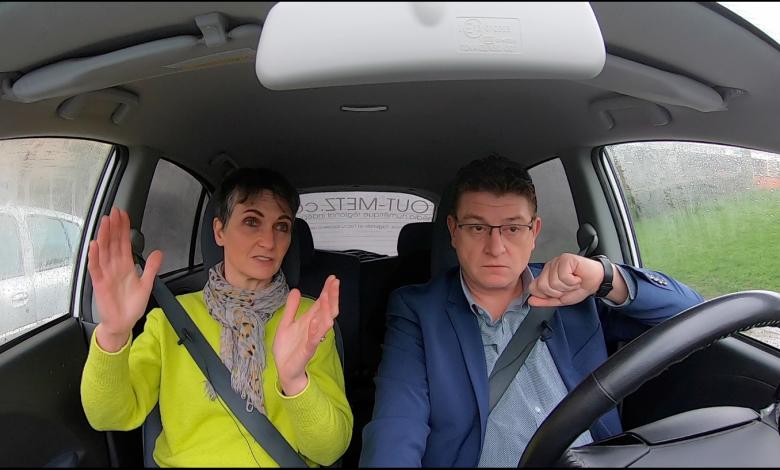 Photo of Candidats, en voiture ! Un tour dans Metz avec Françoise GROLET – Municipales 2020