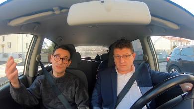 Photo de Candidats, en voiture ! Un tour dans Metz avec Mario RINALDI – Municipales 2020