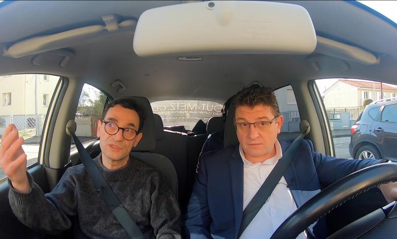 Photo of Candidats, en voiture ! Un tour dans Metz avec Mario RINALDI – Municipales 2020