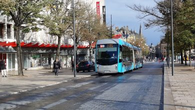 Photo de Les bus en grève à Metz