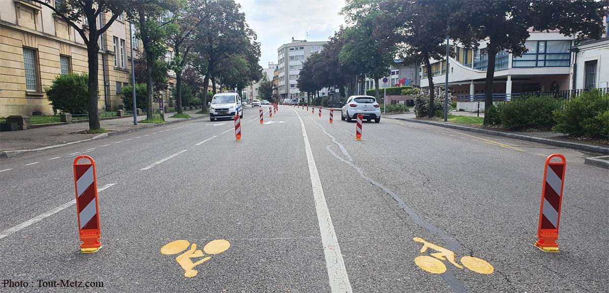 Photo of Metz : où se trouvent les 7 nouvelles pistes cyclables temporaires ?