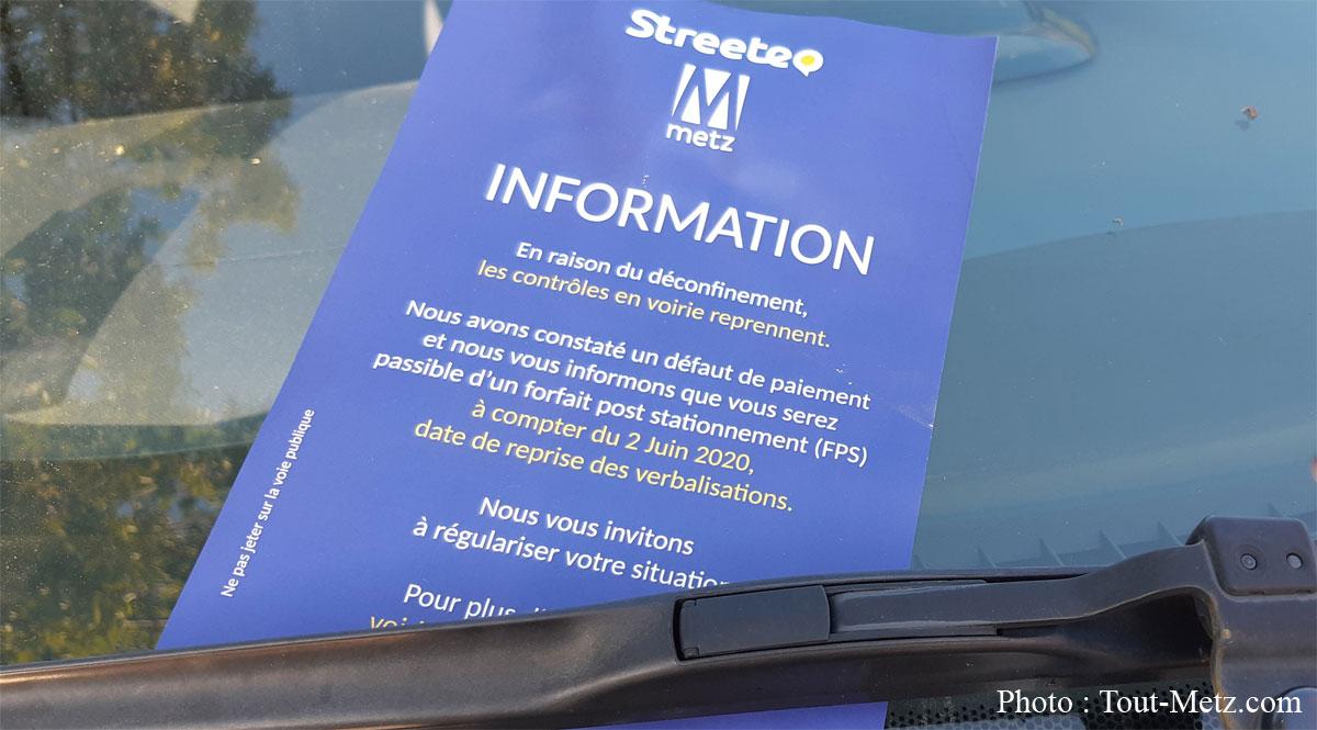 Photo of Metz : fin du confinement, retour du stationnement payant