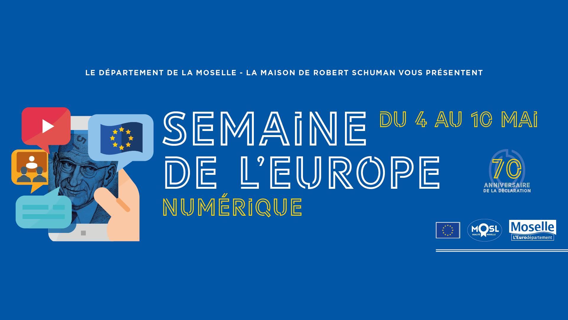 Photo of La semaine de l'Europe numérique : des animations à découvrir en ligne du 4 au 10 mai