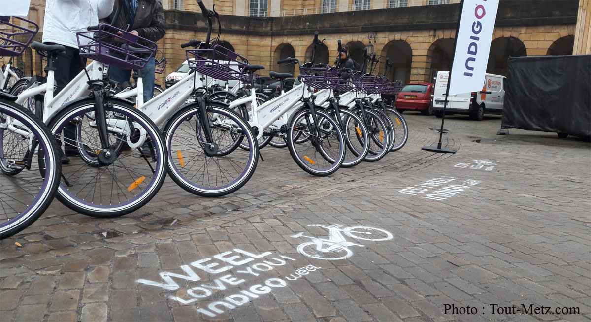 Photo of Metz : les vélos en libre-service Indigo Weel disparaissent du paysage