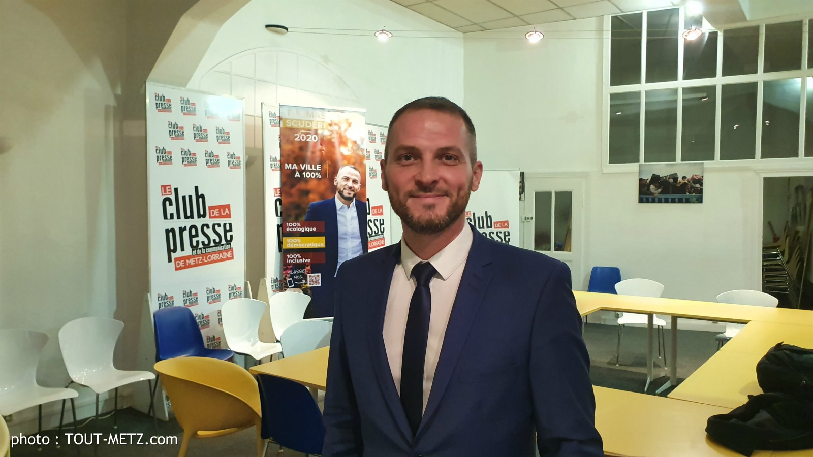 Photo of Thomas SCUDERI apporte son soutien à Xavier BOUVET