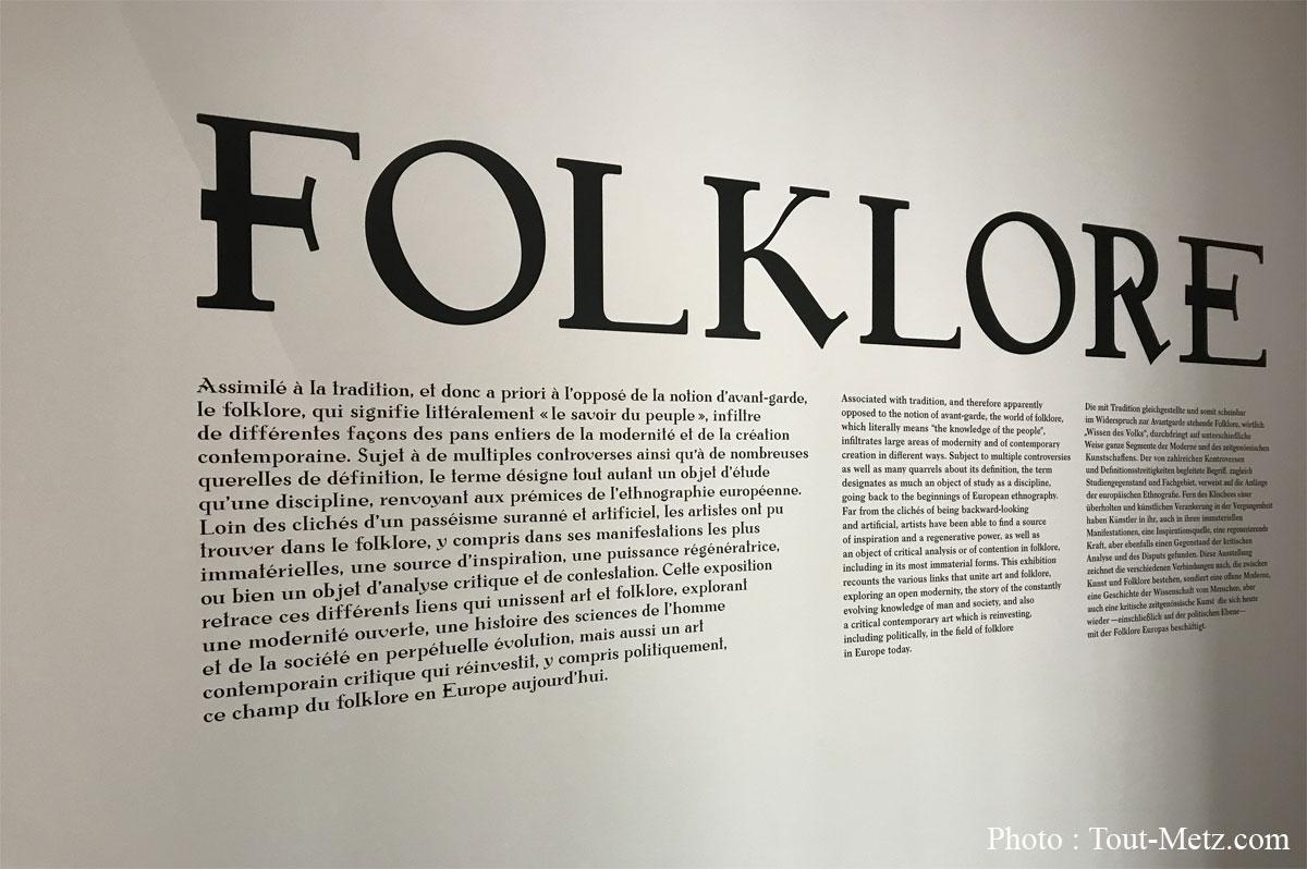 Photo : description du Folklore