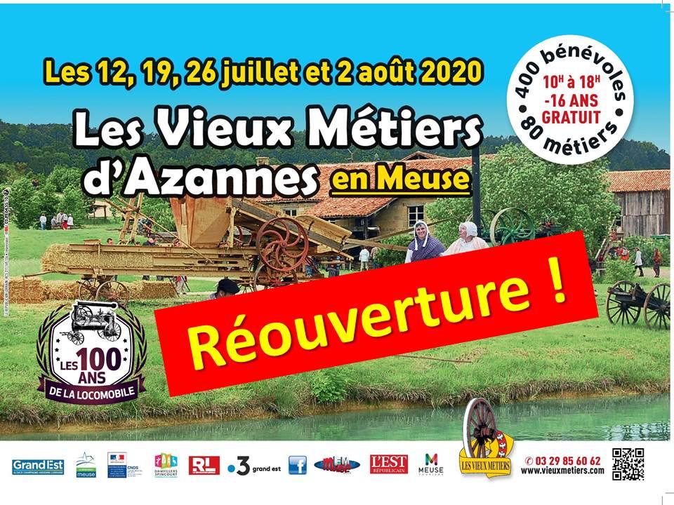 Photo of Meuse : Les Vieux Métiers d'Azannes auront bien lieu