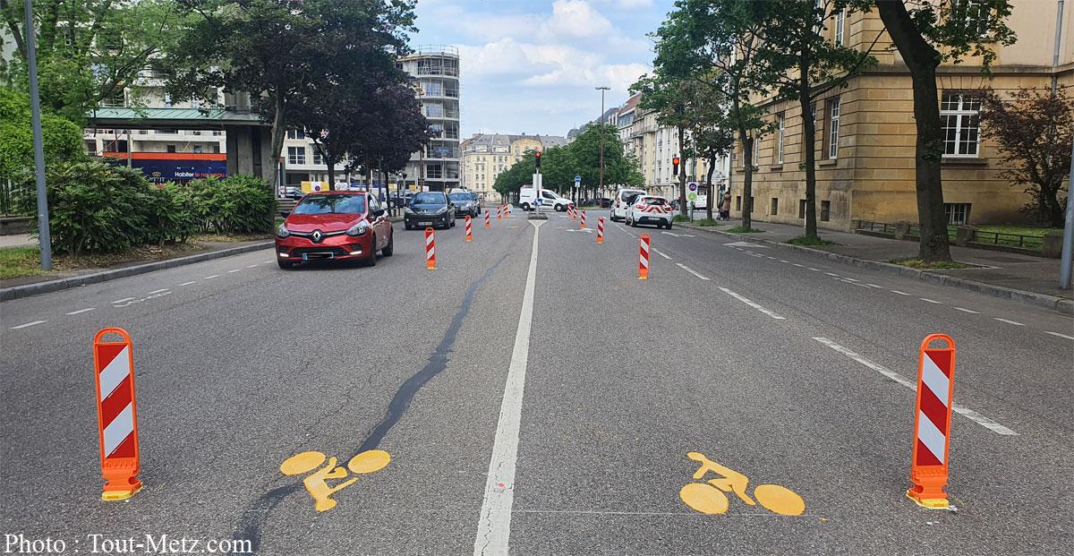 Photo of Pistes cyclables temporaires à Metz : du changement d'ici à la rentrée scolaire