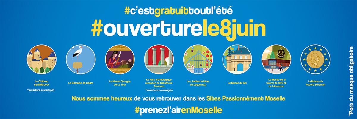 Photo of Culture : les 8 sites Passionnément Moselle gratuits tout l'été