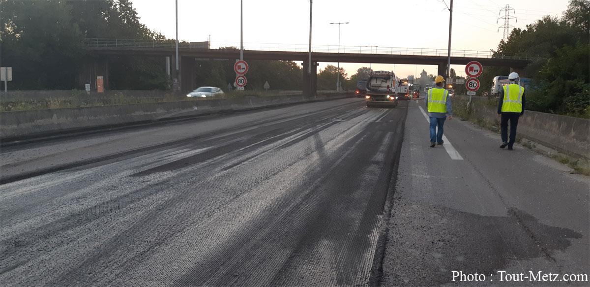 Photo of Traversée de Metz : le chantier de l'A31 en photos et vidéos