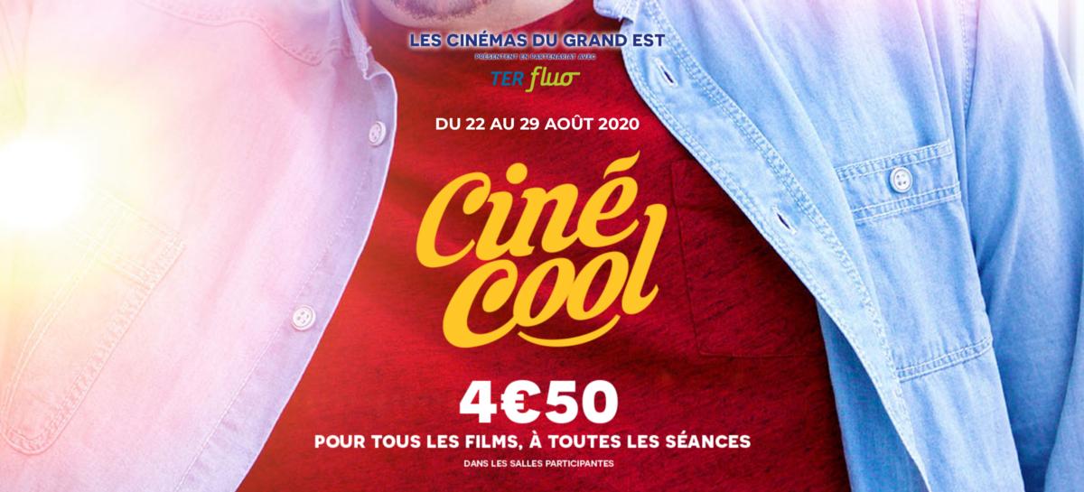 Photo de Metz et Moselle : une semaine de cinéma à 4,50€ avec Ciné Cool