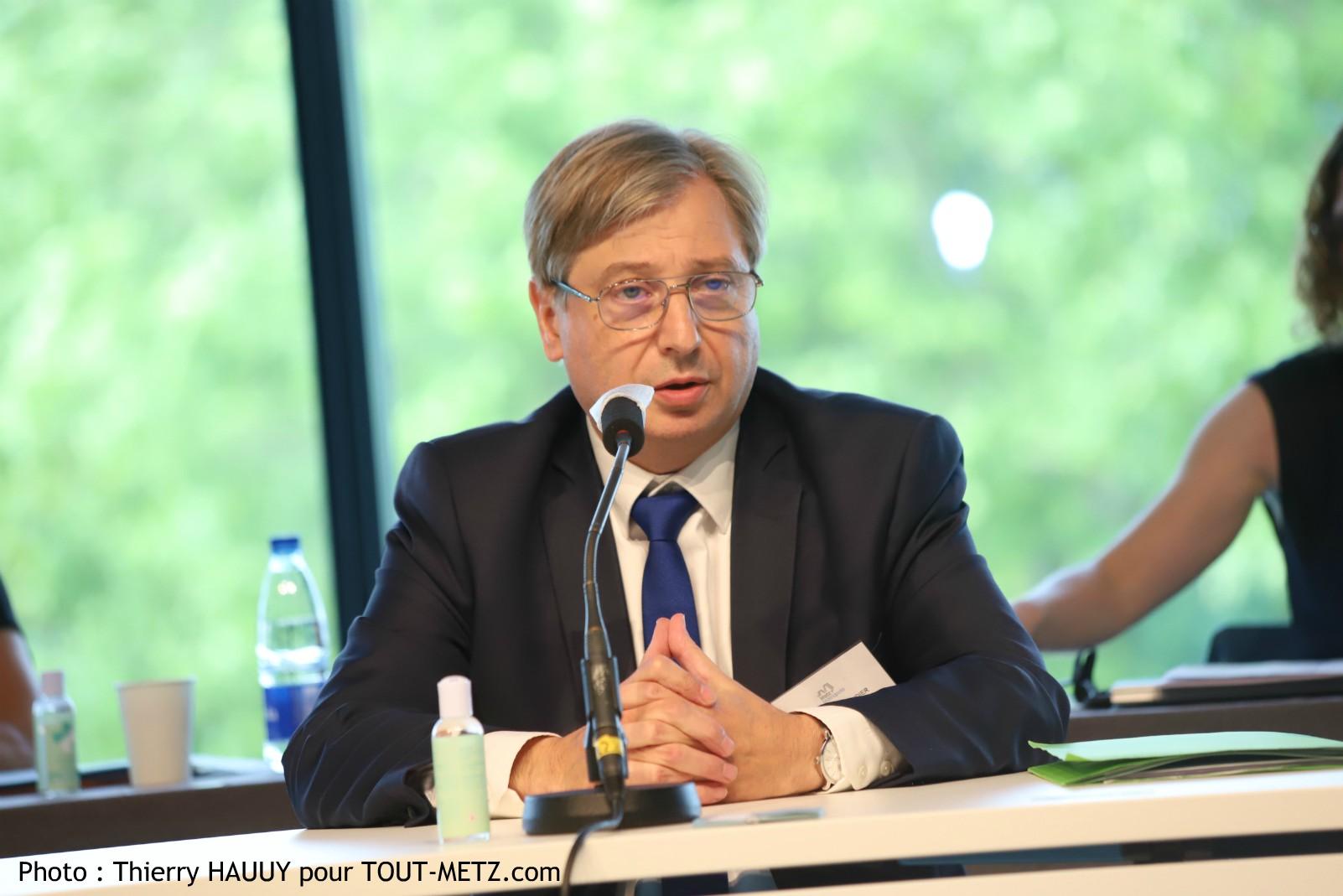 Photo of François GROSDIDIER élu Président de Metz Métropole