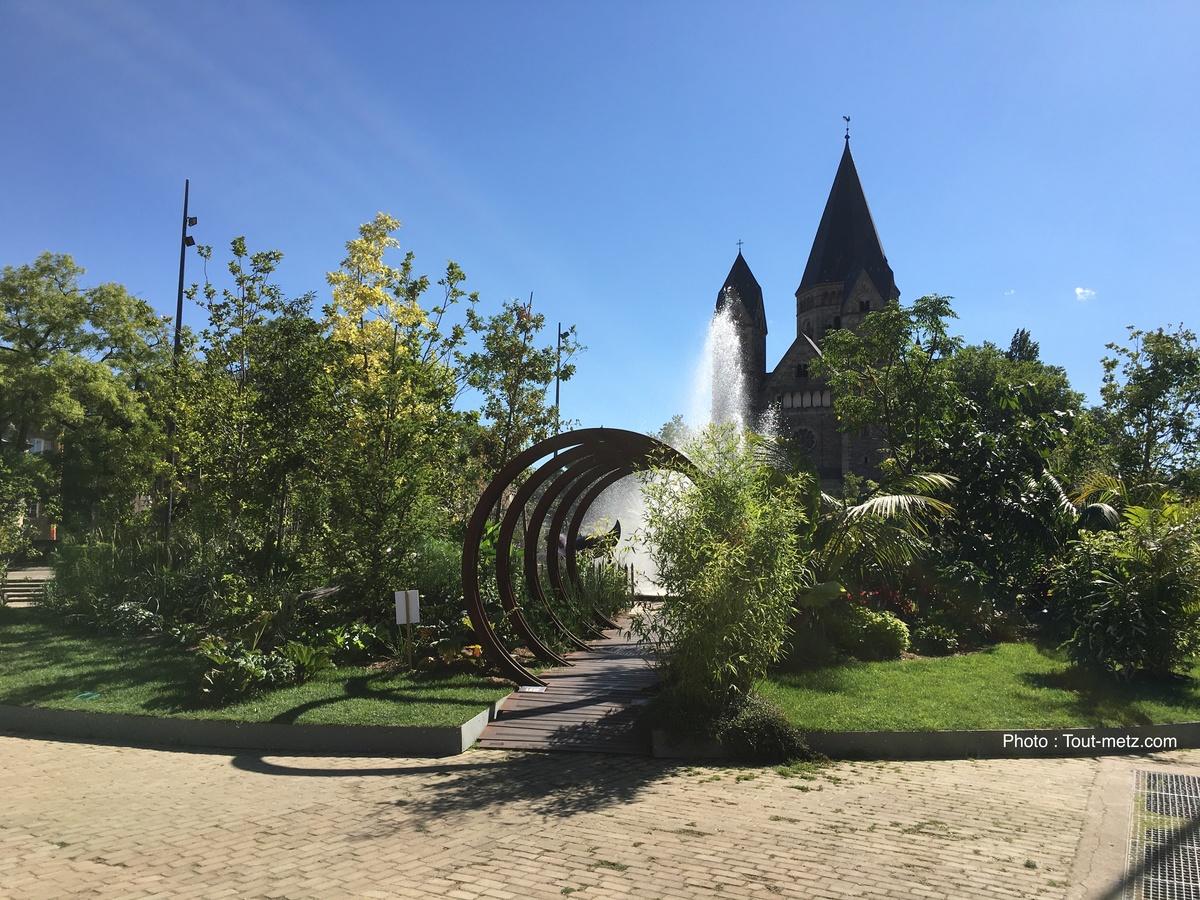 Photo of Metz : une petite pause au jardin éphémère (photos)