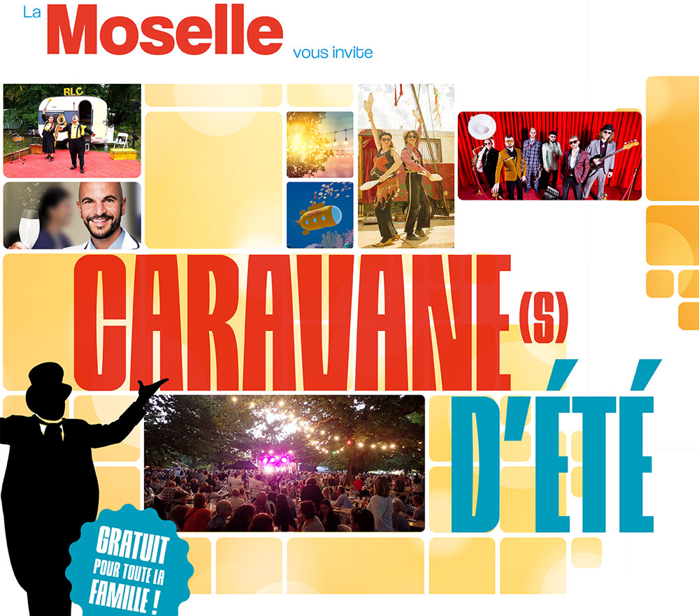 "Photo of Moselle : spectacles, cirque, animations gratuites… la ""Caravane d'été"" part en tournée"