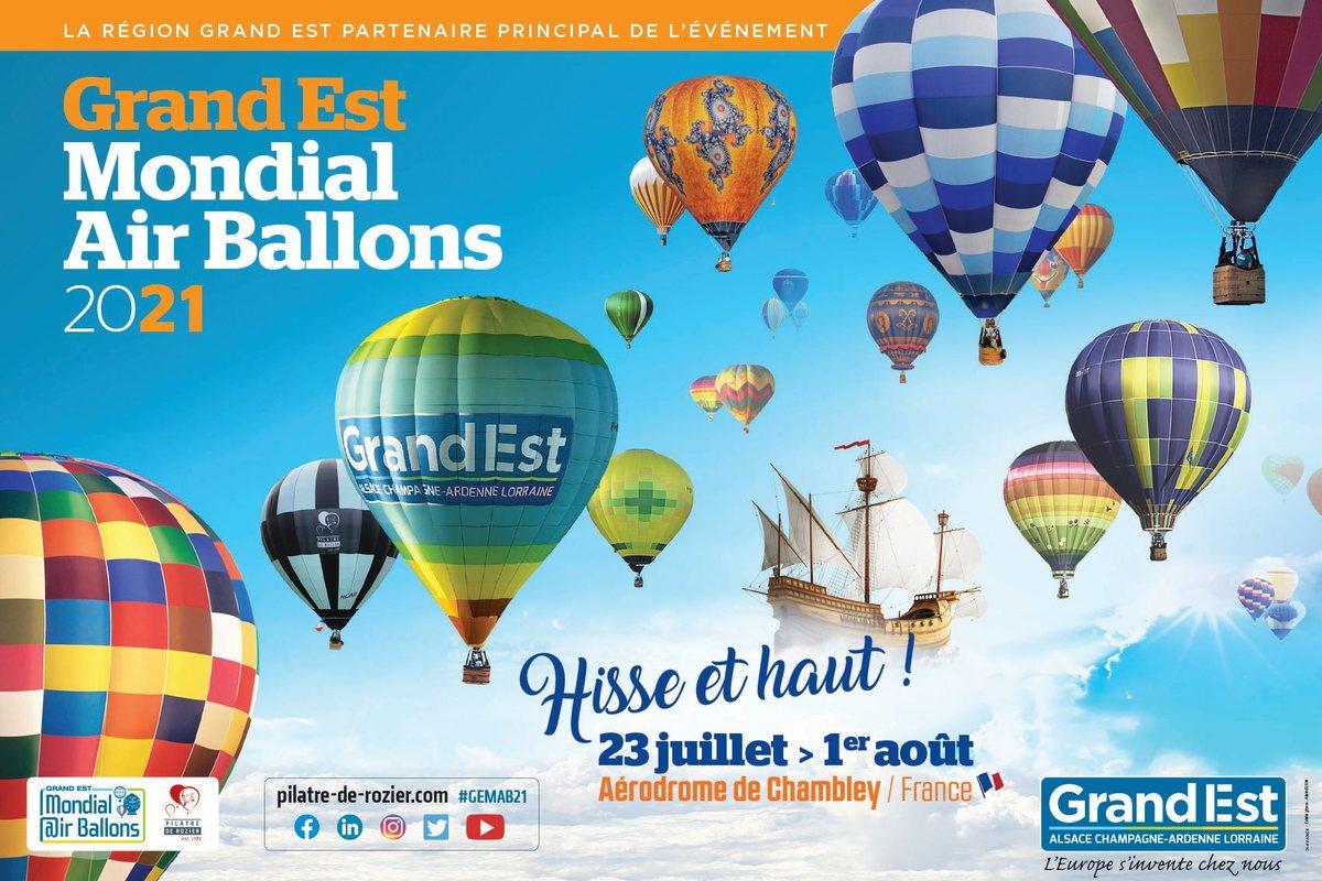 Photo de Grand Est Mondial Air Ballons dévoile son visuel pour 2021