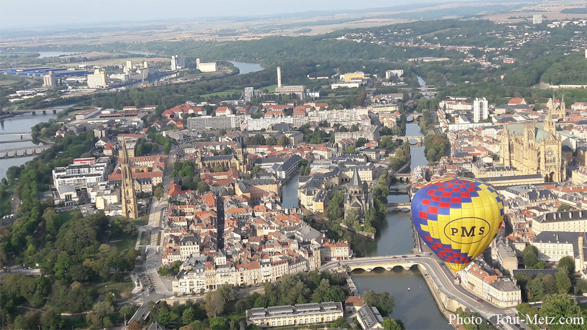 Photo de Metz : les Montgolfiades prolongées jusqu'à mercredi